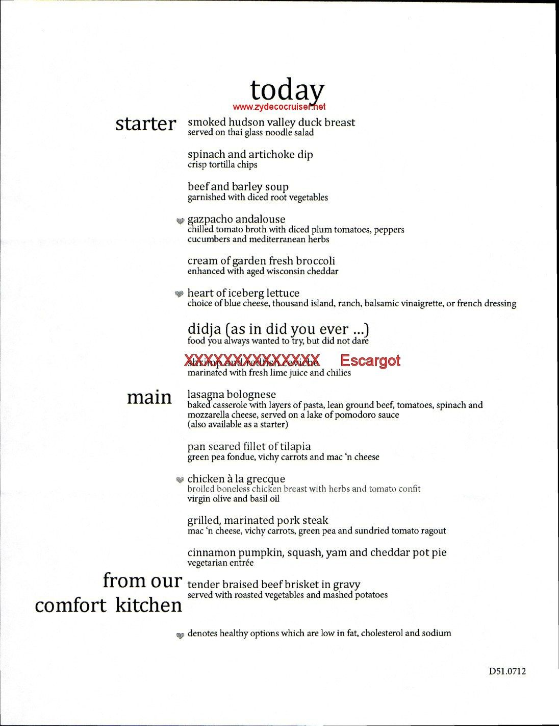 Carnival Elation Mdr Dinner Menu 1  Just A Cruising  Pinterest Magnificent Carnival Cruise Dining Room Menu Inspiration