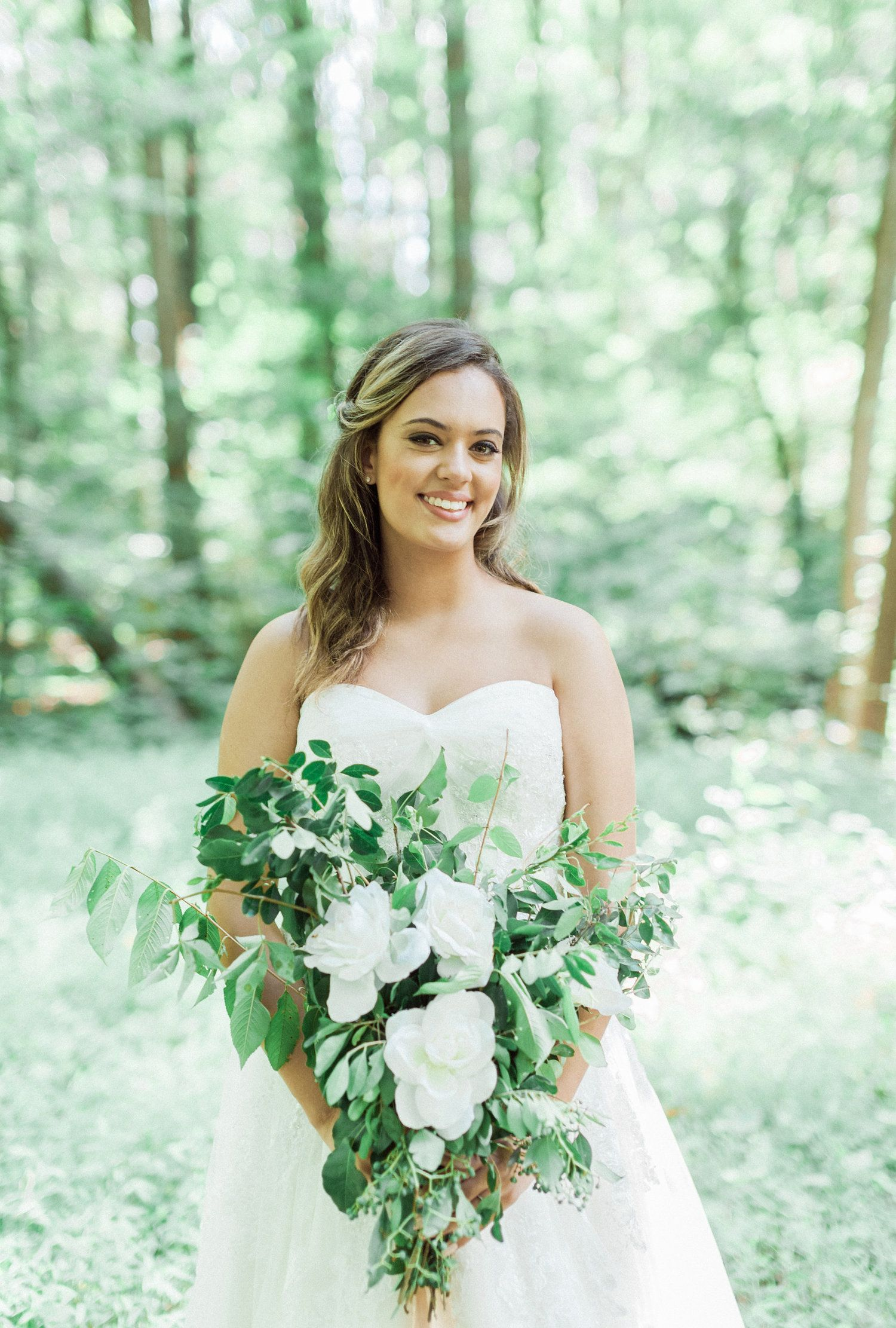 Atlanta, GA bridal makeup and hair, soft and feminine