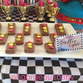 Oh Gorgeous Baby: Aston's Disney Cars 3rd Birthday Party - Lightening McQueen & Mater
