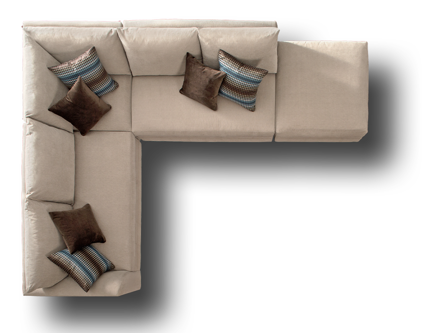 Sofa Set Top View Png