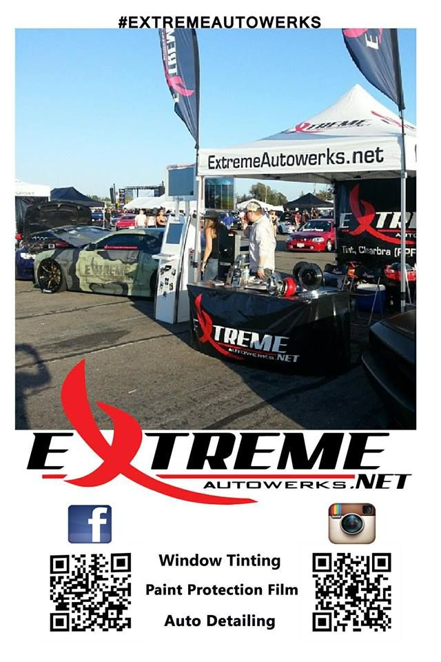 Pop Up Tent For Extreme Autowerks Promotionaldesigngroup