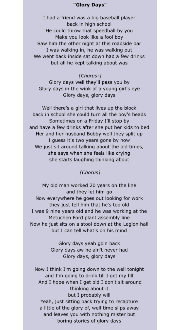 Bruce Springsteen With Images Springsteen Lyrics Words Lyrics