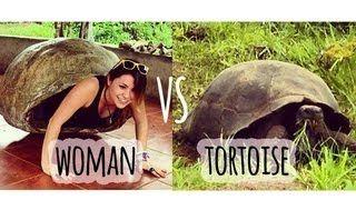 3:46  Woman VS Tortoise // Galapagos, Ecuador