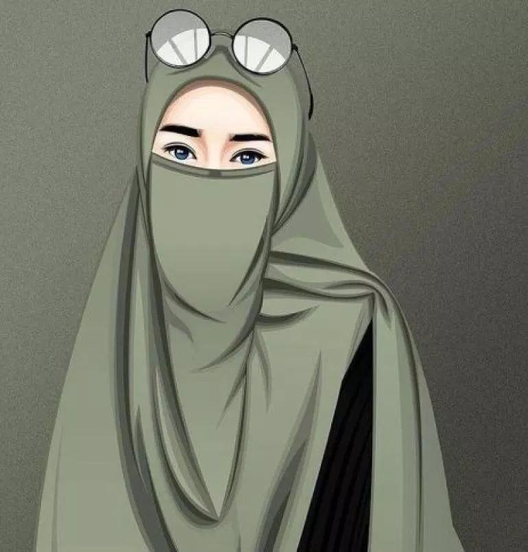Gambar Wanita Muslimah Bercadar Cantik Dan Anggun