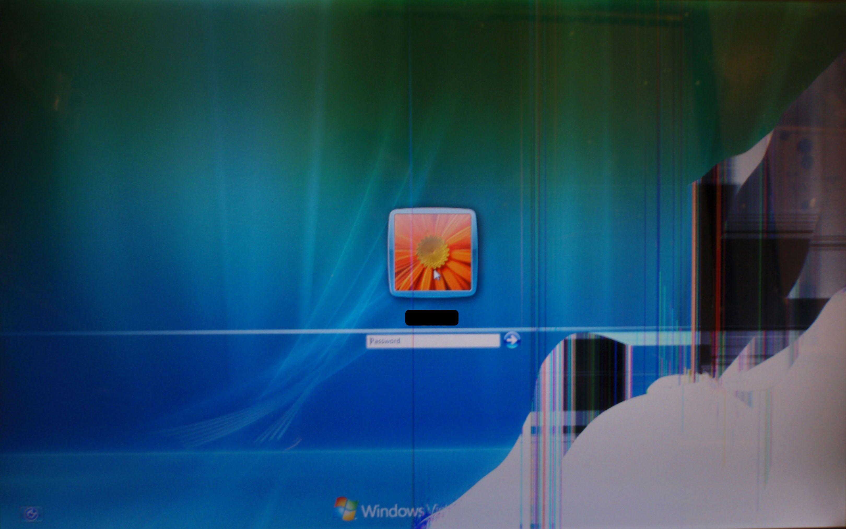 Broken Screen Wallpaper Windows Vista Login 2018 Wallpapers HD