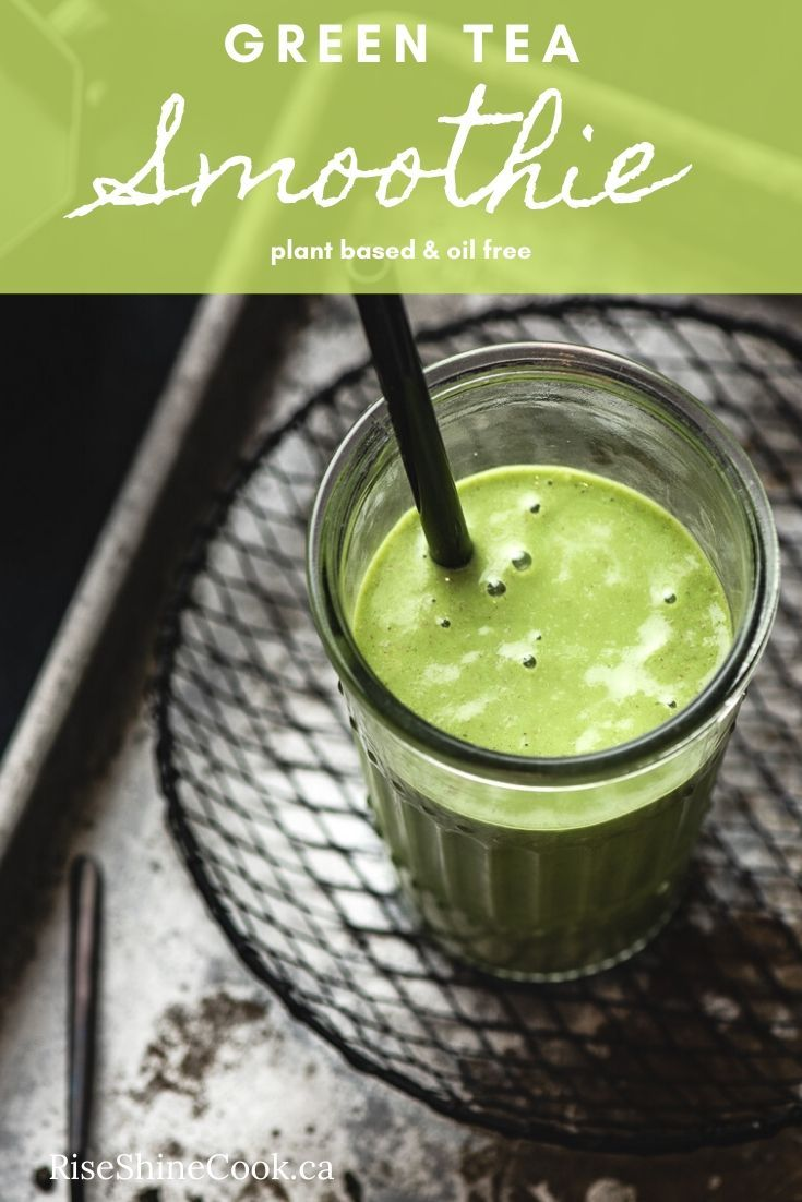Photo of Green Tea Green Smoothie – Plant-Based Recipes by Ashley Madden