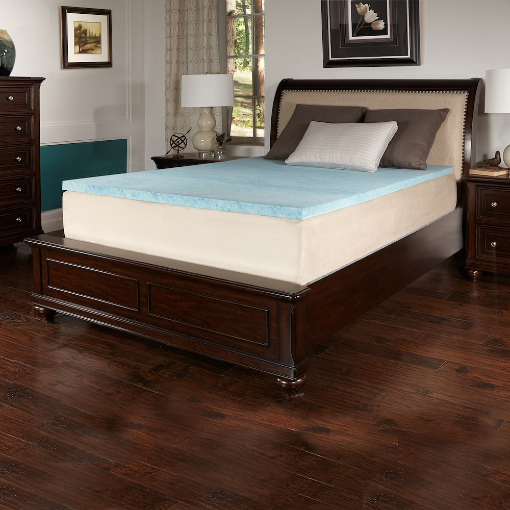 Comforpedic From Beautyrest 2 Inch Comfort Choice Gel Flat Firm