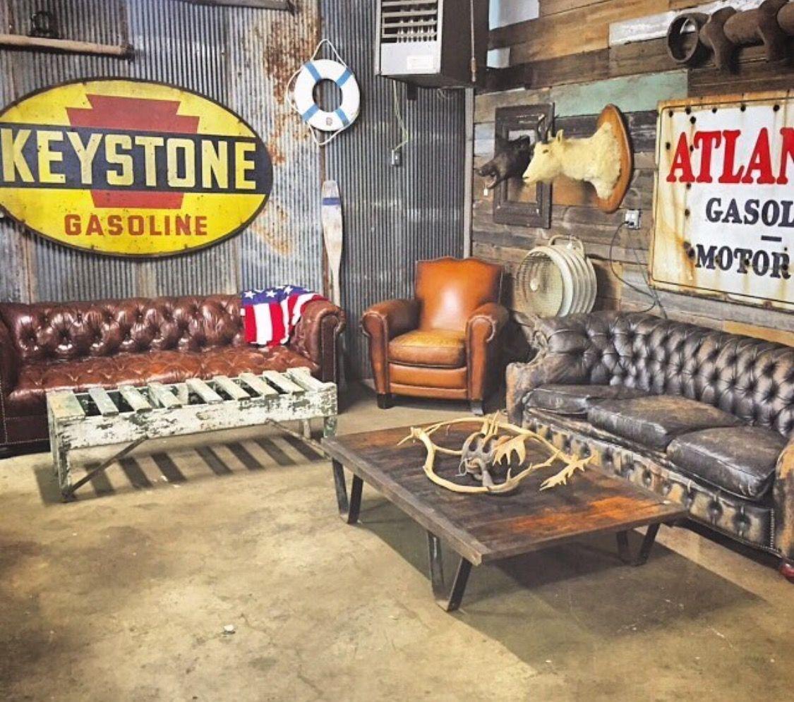 Keystone Gasoline Barn Ideas Pinterest - Man cave garage bar