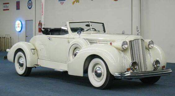 1939 Packard 12 Boattail Speedster