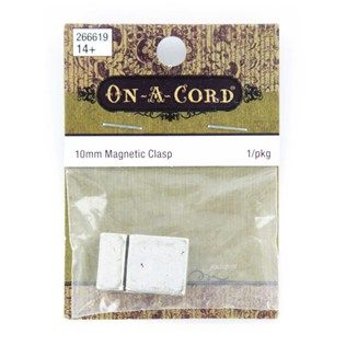 On-a-Cord 10mm Antique Silver Magnetic Clasp | Shop Hobby Lobby