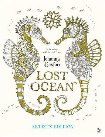 Johanna basford coloring books lost ocean