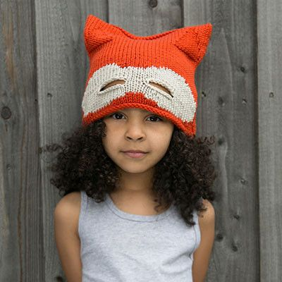 fd5a18b8dc23fd Fox Mask Knitted Hat by Luluzulu - Junior Edition www.junioredition.com.  LULUZULU-kidsHat-fox.jpg Kids Winter Hats ...