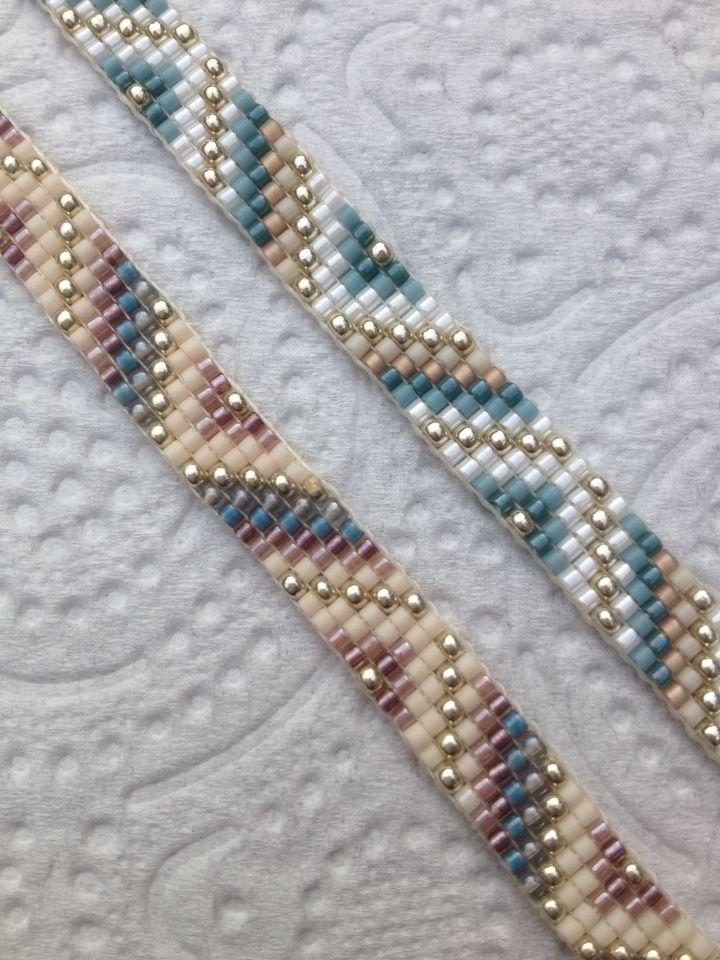 Bracelets Perles Miyuki Beadloom Bracelet Pinterest