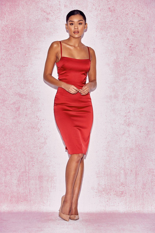 3aa3bcbef87 Mareena Satin Bodycon Dress