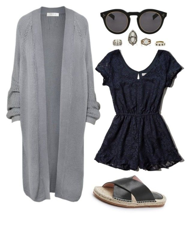 """""""Untitled #208"""" by kenzie-raye13 on Polyvore featuring Abercrombie & Fitch, Charlotte Stone, Illesteva and Paisie"""