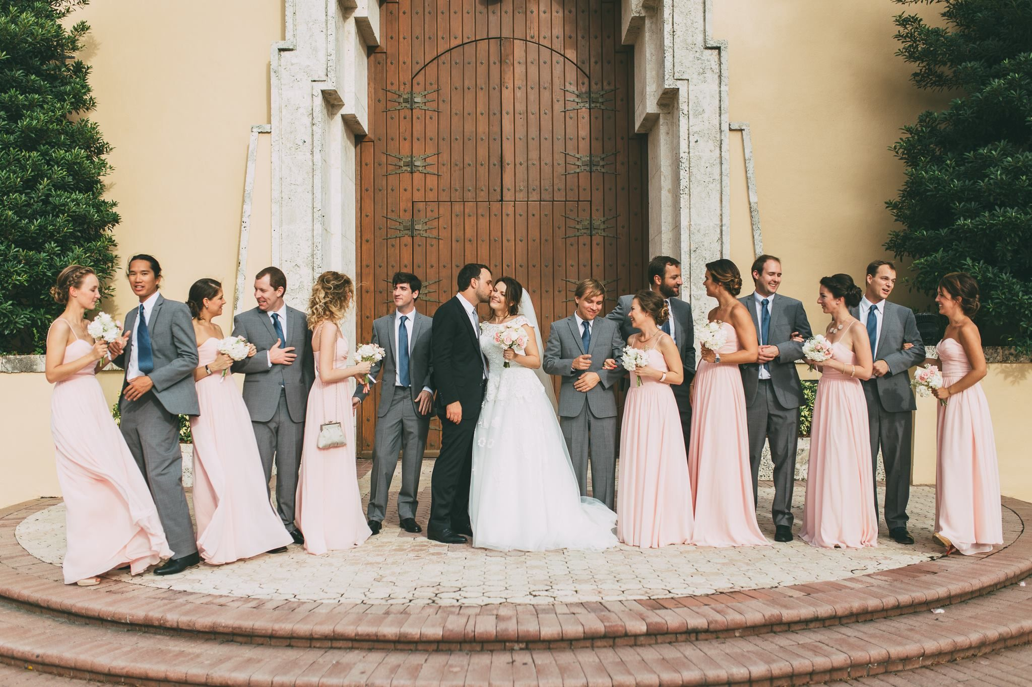 Cool Miami Destination Wedding Thirty And A Third Photography Vagabond Hotel Cathedral Of St Mary Planner