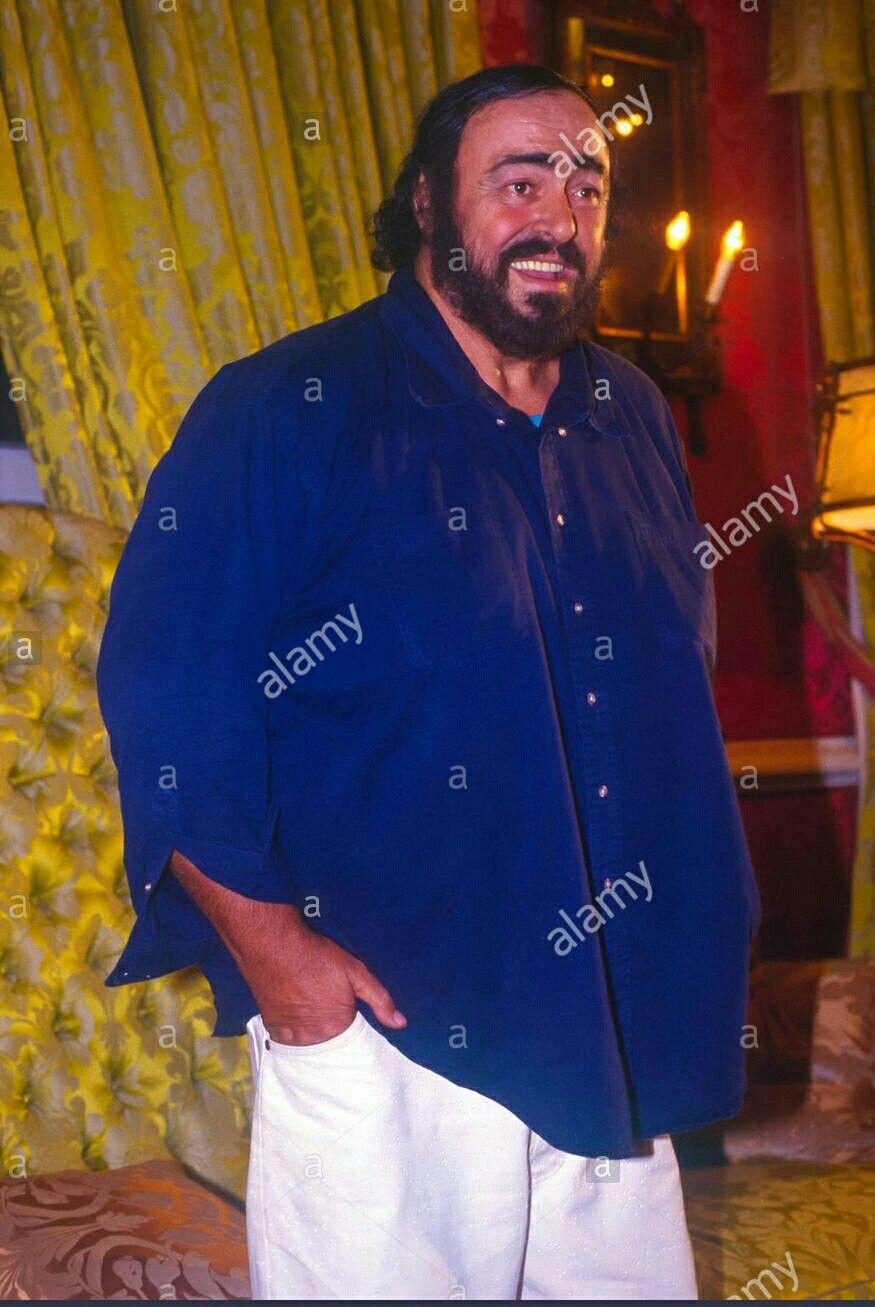 Luciano Pavarotti In 1992