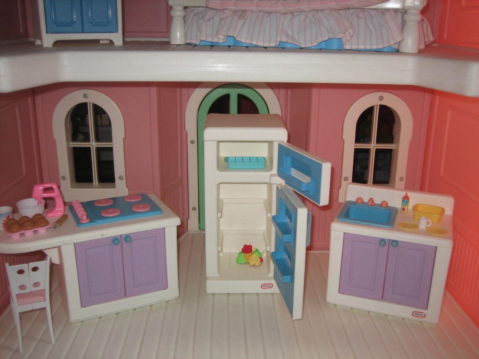 Details about Vintage Little Tikes My Size Dollhouse Barbie ...