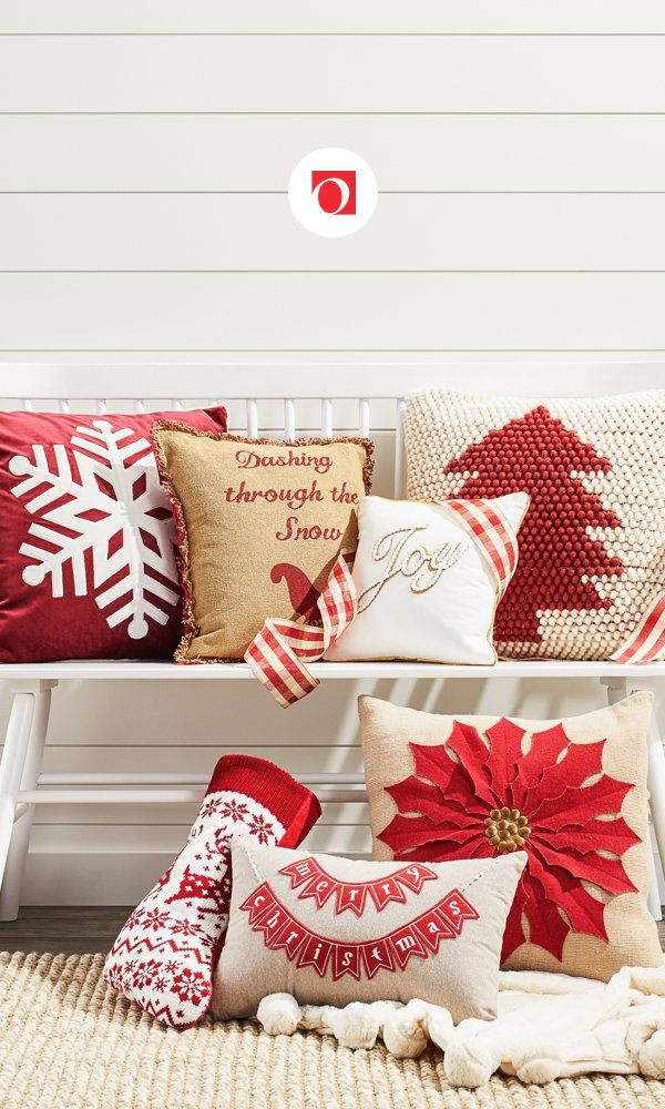 Decorating for Christmas is a breeze with simple updates from Overstock like accent decor and Christmas throw pillows. At Overstock, you'll find incredible deals on a huge assortment of quality items, plus you'll enjoy Free Shipping on EVERYTHING!* Create the holiday home of your dreams with amazing deals on stylish holiday home decor from Overstock. #christmas #christmasthrowpillows #throwpillows #holidayhome #homedecor
