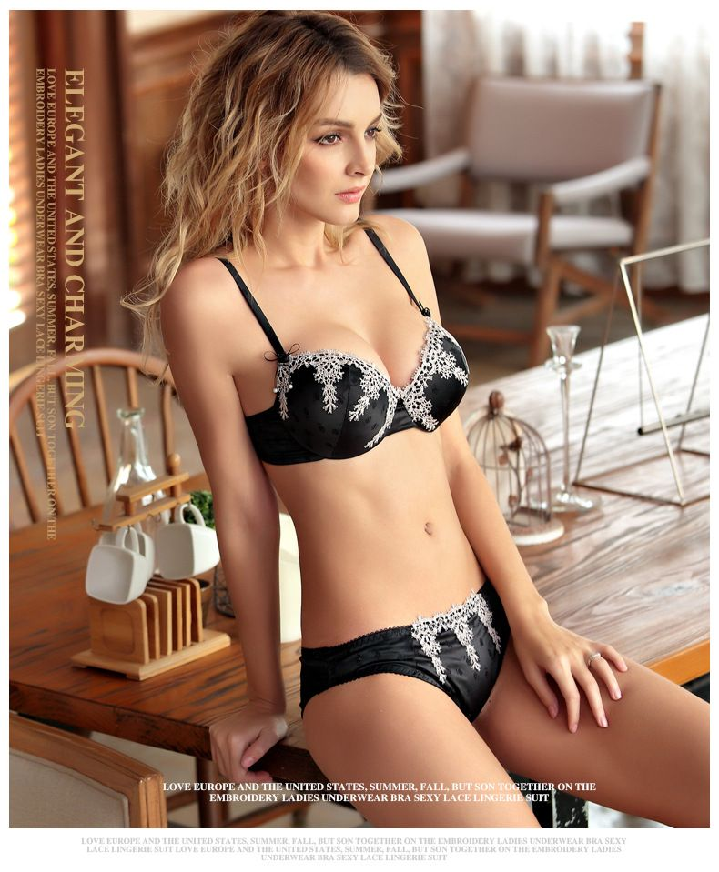 85a4230d38 QIYIJING-New-luxury-collection-of-underwear-sexy-embroidery-bra-sets -32810491222