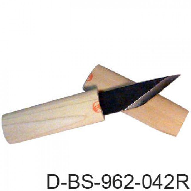 Baishinshi Kiridashi Knife w/ Wooden Handle (Right Bevel)