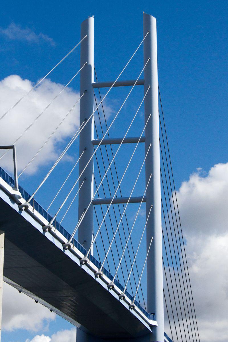Rügenbrücke über den Strelasund