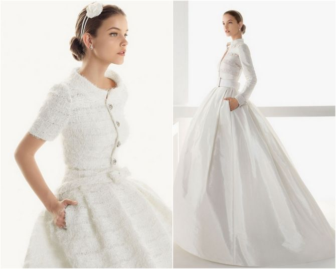 Wedding Dress Coat At Exclusive Decoration And