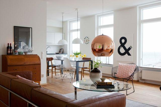 25 Wohneinrichtung Ideen \u2013Wohnzimmer im skandinavischen Stil #ideen