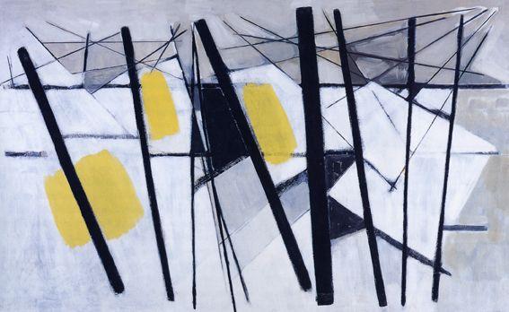 Wilhelmina Barns-Graham White, Black and Yellow