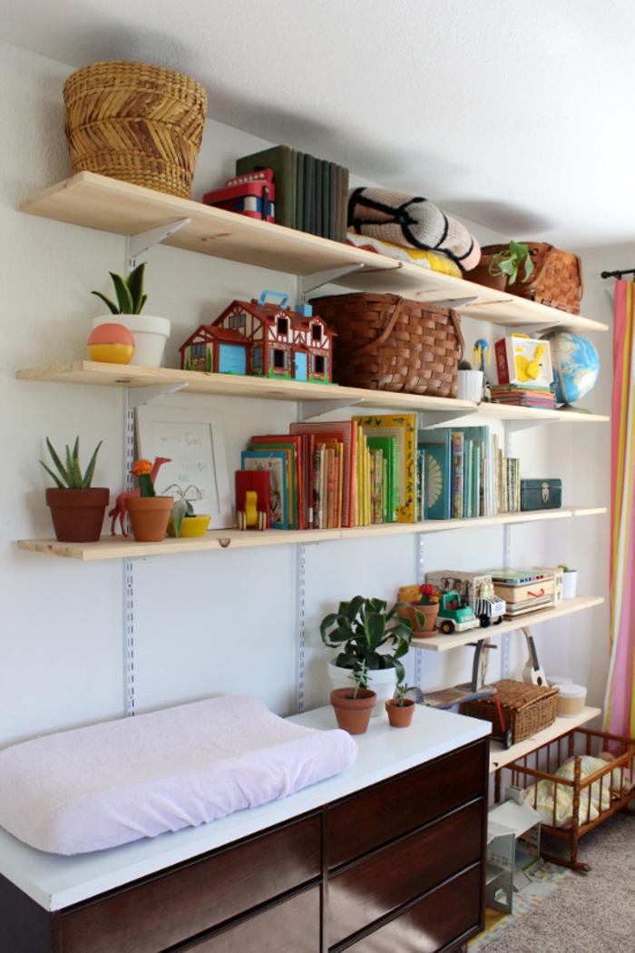 Wandregal Selber Bauen Regalsystem Stauraum Ideen Kreative Wohnideen  #homeschoolingroomorganization