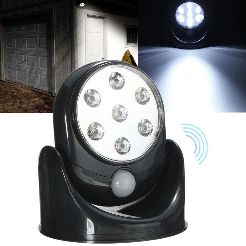 Led motion activated cordless sensor night light for indoor outdoor led motion activated cordless sensor night light for indoor outdoor security mozeypictures Images