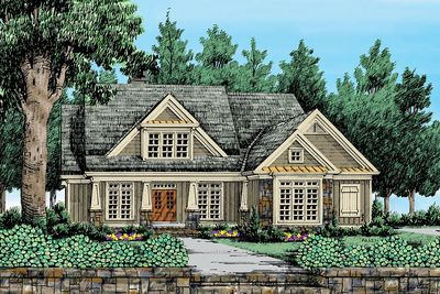 Plan 710069BTZ: Informally Elegant 4-Bed Craftsman-Style House Plan #craftsmanstylehomes