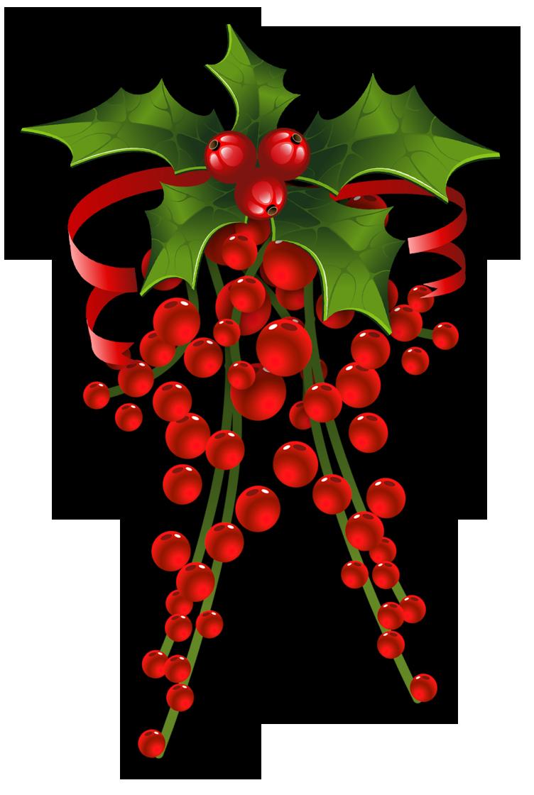CHRISTMAS HOLLY * | CLIP ART - CHRISTMAS 3 - CLIPART | Christmas ...