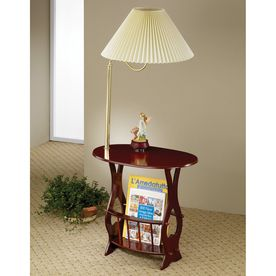 Lowe S Table With Lamp Attached Shop Coaster Fine Furniture