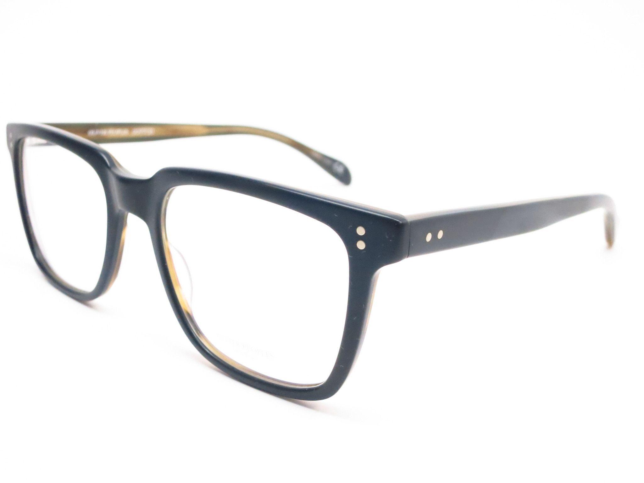 49b5b34dba Oliver Peoples NDG OV 5031 1282 Matte Black   Olive Tortoise Eyeglasses