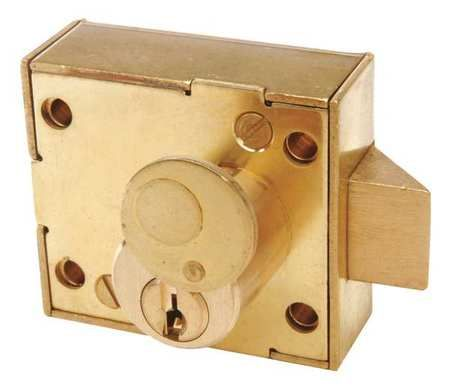 Rimlock Heavy Duty Deadbolt W Thumbturn Deadbolt Heavy Duty Raw Brass