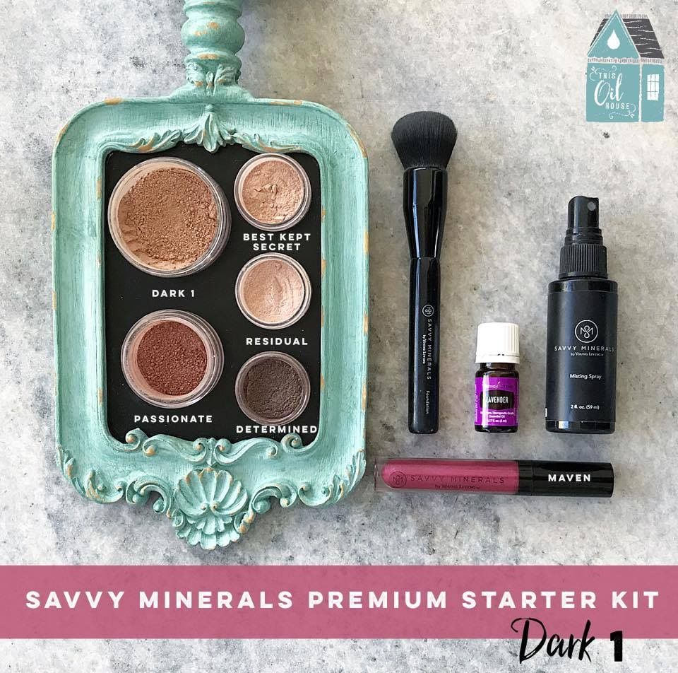 Young Living now has a Savvy Minerals Makeup Starter kit