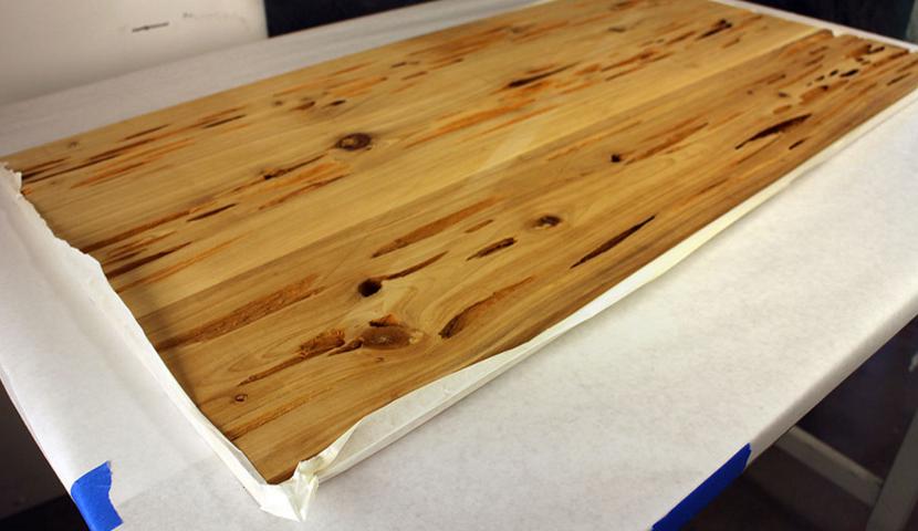 Tuto Mike Warren Fabriquer Une Table Phosphorescente Renover Une Table Table Bois Table Exterieur Bois Meuble A Fabriquer Soi Meme
