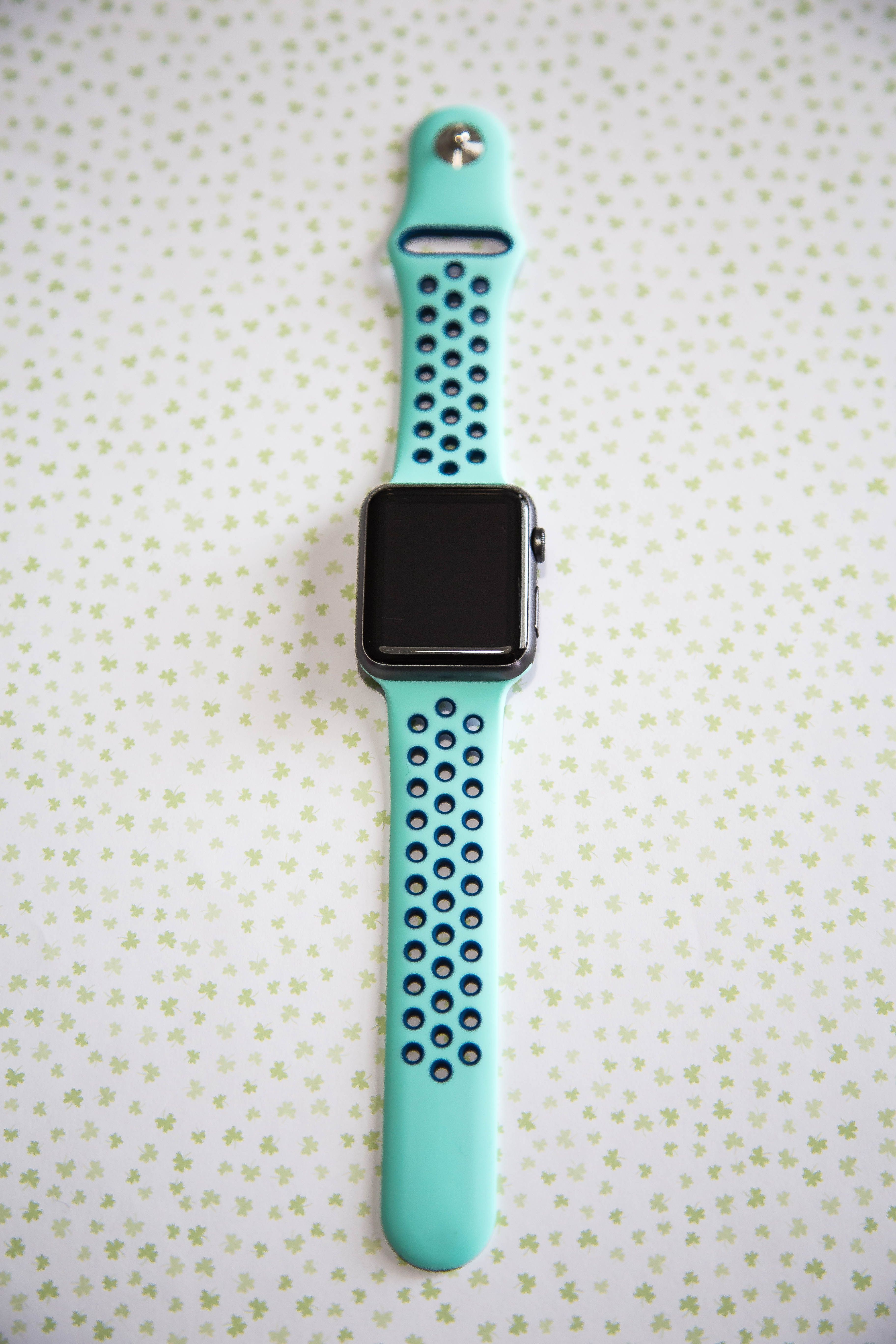 Best Turquoise and Blue Sport Apple Watch Band, All Apple