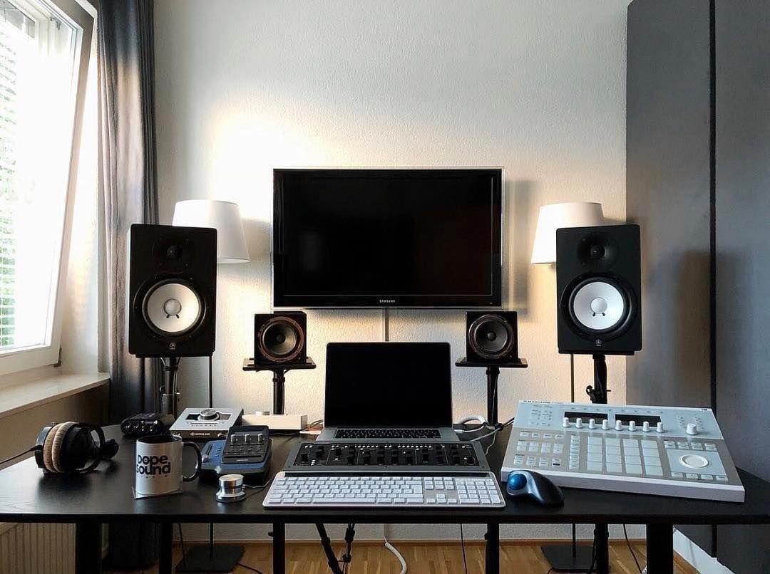 Épinglé par Imnobody sur Music studio setups & instruments