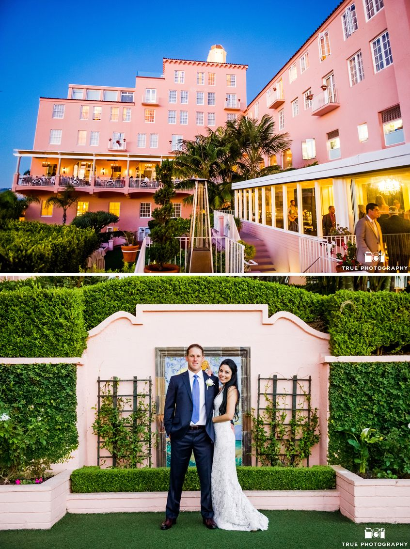 Lajolla Real Wedding Lea Nick Exquisite Weddings La Valencia Hotel Dream