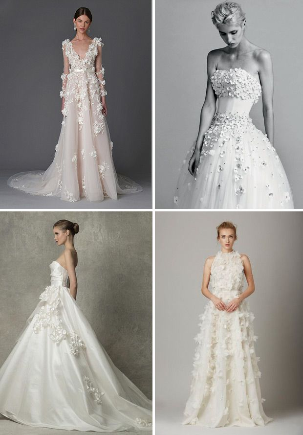 Top Bridal Style Trends For 2017 Embellishment Www Onefabday
