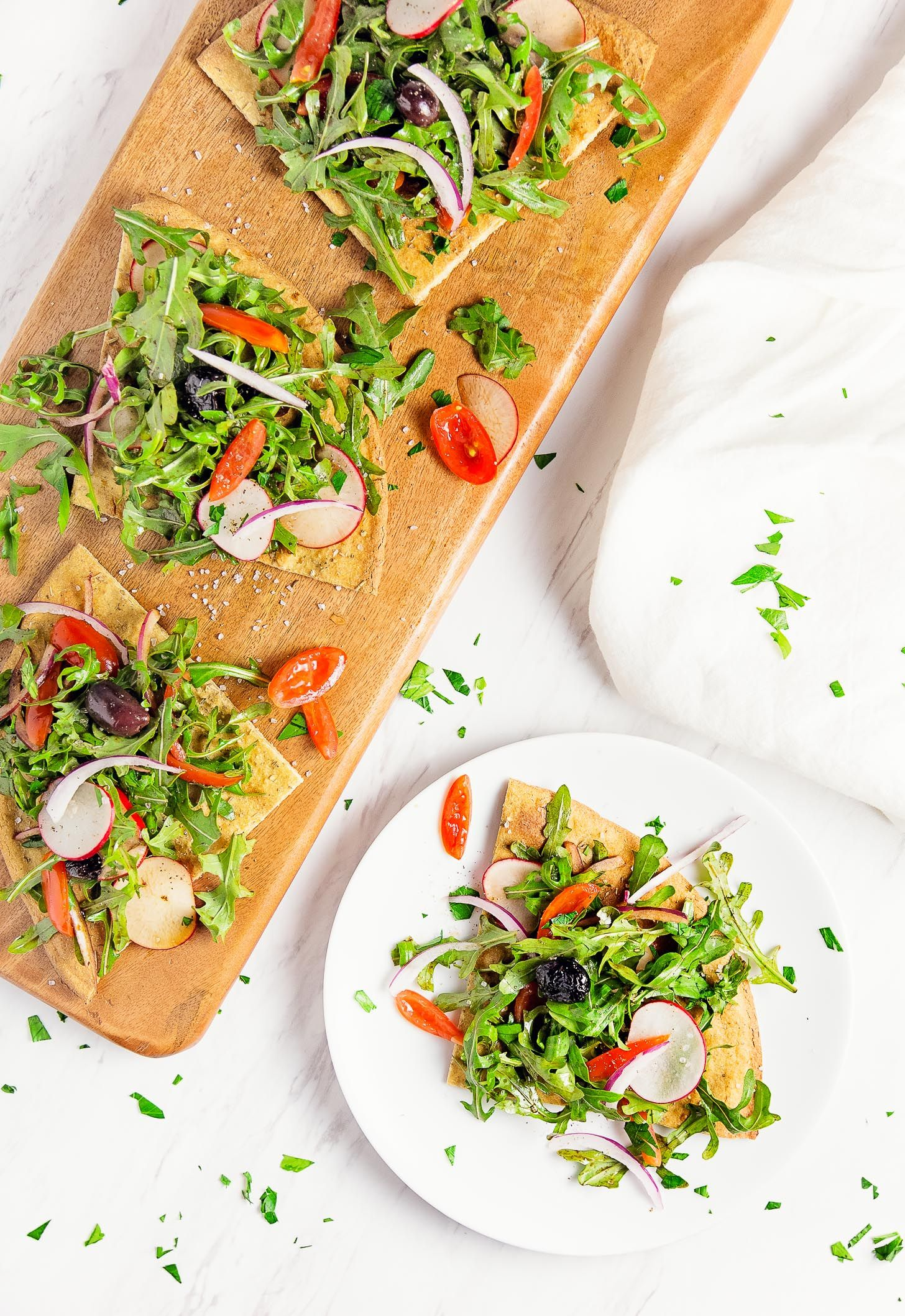 Basic Quinoa Flatbread