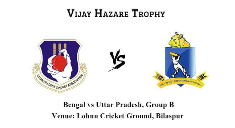 Bengal Vs Uttar Pradesh Group B Betting Tips And Match Prediction Tips Betting Bengal