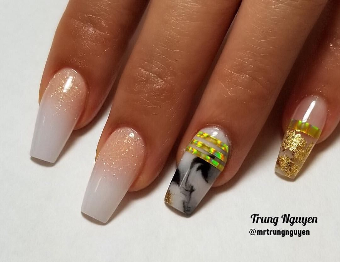 All acrylic nails design #allacrylic #coloracrylic #ombrenails ...