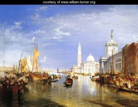 Venice: The Dogana and San Giorgio Maggiore - Joseph Mallord William Turner