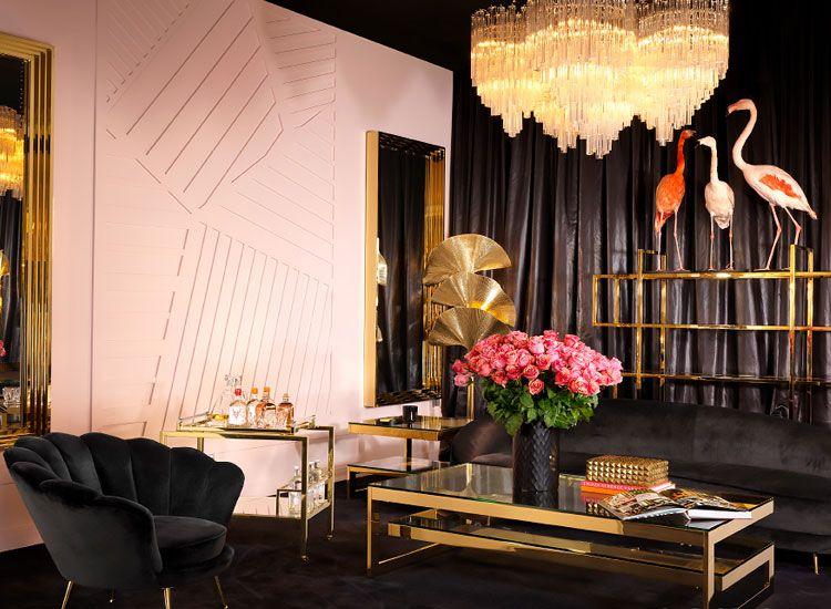 Pink And Gold Living Room | #PinkLivingRoom | #GoldLivingRoom | #Flamingoes Part 92