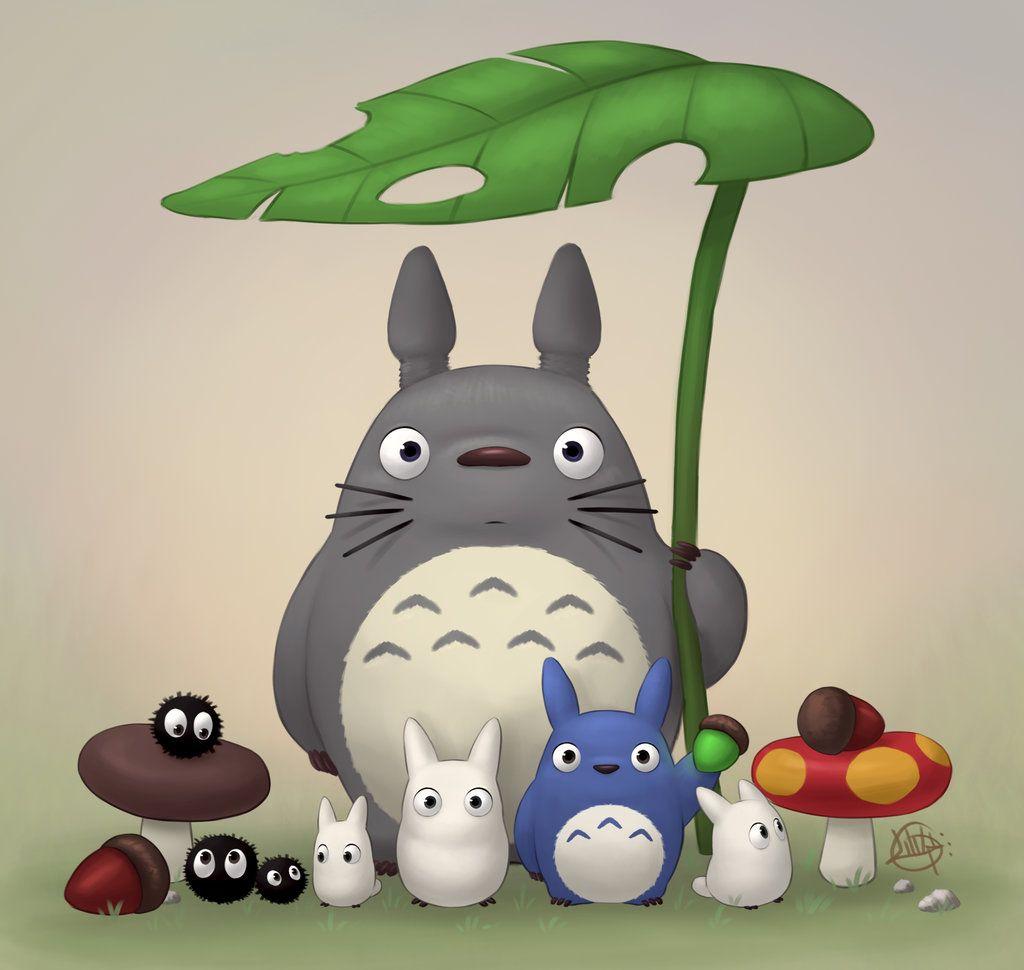 Luigil Totoro And Friends Totoro Characters Totoro Art Totoro