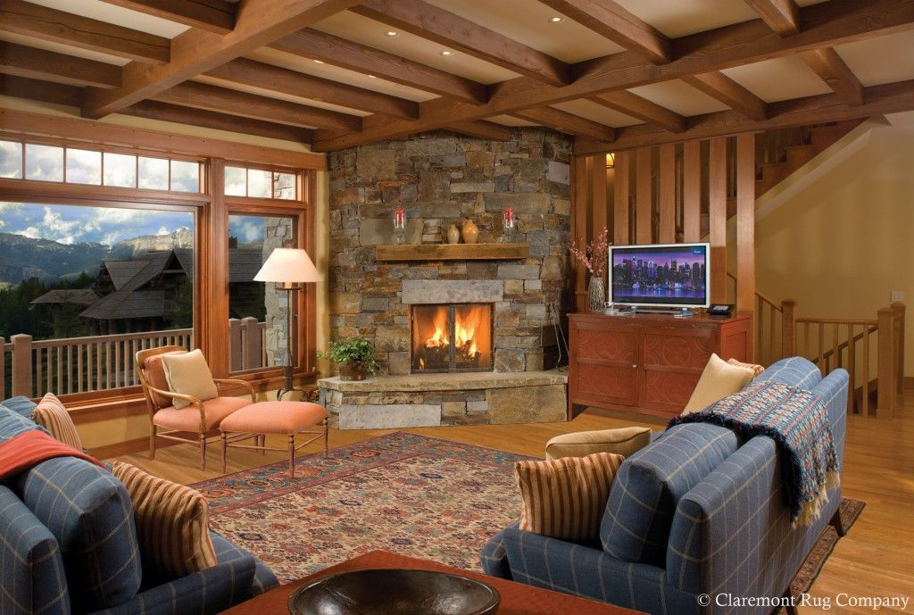 Pin On Elegant And Inviting Family Rooms