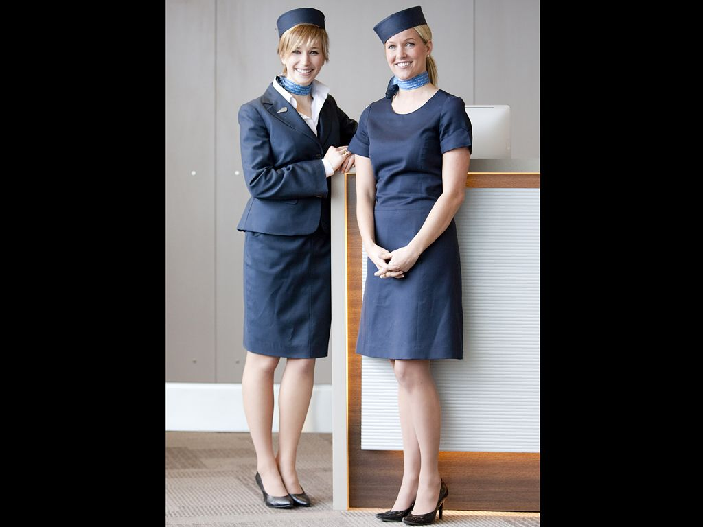 flight attendant uniform united airline - Google Search | Mud Blue ...
